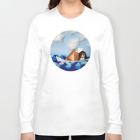 caleb troy Long Sleeve T-shirts featuring Troy Marinera ~ Sailor by Marivi Troy