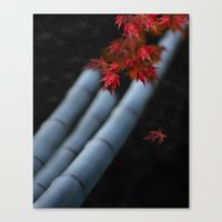 bamboo Canvas Prints featuring Bamboo by Anne Seltmann