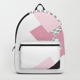 Pink - Abstract Backpack