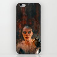 mad max iPhone & iPod Skins featuring Nux Mad Max by Wisesnail