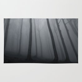 The Eerie Forest (Color) Rug