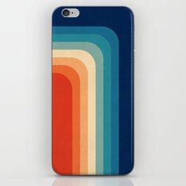 Retro 70s Color Palette III iPhone Skin