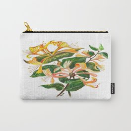 Honeysuckle Bouquet Carry-All Pouch