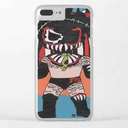 The Demon: Finn Balor Summerslam Edition Clear iPhone Case