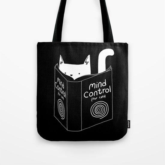 Mind Control 4 Cats Tote Bag