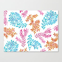 Colourful vines Canvas Print