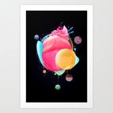 Sunday Candy Art Print