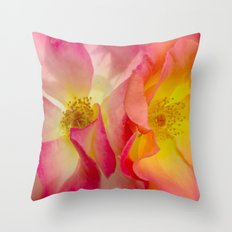 Playboy Roses Throw Pillow