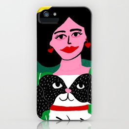 Perrito Pekinés iPhone Case