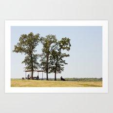 Lewisville Lake Park Art Print