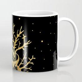 gold plant at night Coffee Mug