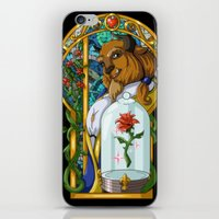 beast iPhone & iPod Skins featuring Beast by Two Tiger Moon Studio
