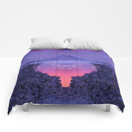 The mutation of the volcano Comforters