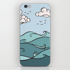 Clouds and Waves iPhone & iPod Skin