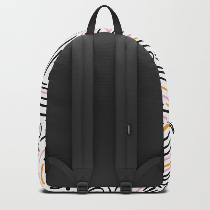 squiggle wiggles Backpack