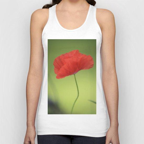 Poppy Love Unisex Tank Top