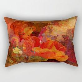 Poppy bouquet Rectangular Pillow