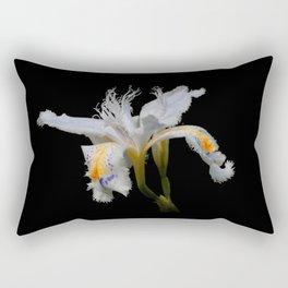 Elegant Iris Japonica / Fringed Iris Flower Rectangular Pillow