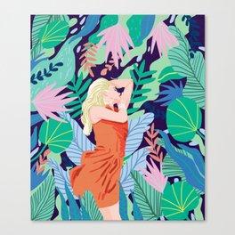 Soulful Garden Canvas Print