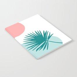 Tropical Beach, Minimalist Abstract Illustration Notebook