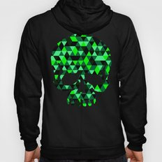 Triangle Camouflage Skull (BLACK) Hoody