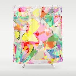 color splash Shower Curtain