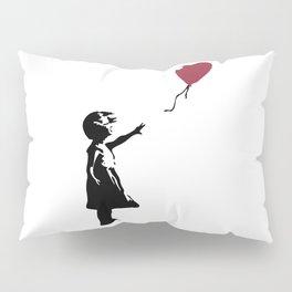 Girl With Red Balloon, Banksy, Streetart Street Art, Grafitti, Artwork, Design For Men, Women, Kids Pillow Sham