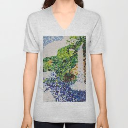 Waterfall At a Distance Unisex V-Neck