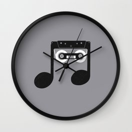 Analog Music Wall Clock