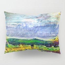 From Sunriver: Mt. Bachelor (Salt Watercolor) Pillow Sham