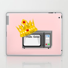 Microwave Love Laptop & iPad Skin