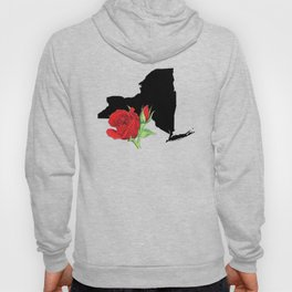 New York Silhouette and Flower Hoody