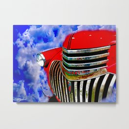 CHEVROLETS DO GO TO HEAVEN Metal Print