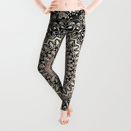 WARM WINTER MANDALA Leggings