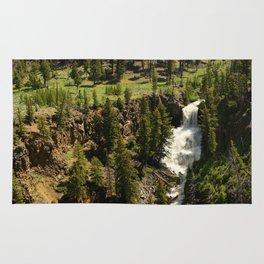 Undine Falls Yellowstone N P Rug
