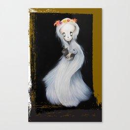YUKI ONNA BLACK Canvas Print