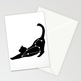 leo cat Stationery Cards