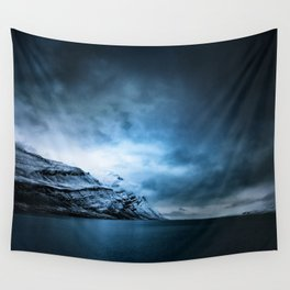 The Arctic - Storm Over Still Water Wall Tapestry