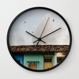 Trinidad, Cuba Wall Clock