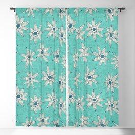 sema mint blue Blackout Curtain