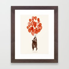 Almost take off Framed Art Print