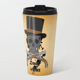 Death of the Poet Travel Mug