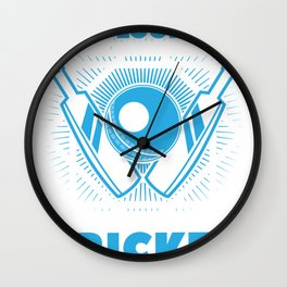 I'm Thinking About Cricket - Cricket Design Wall Clock