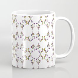 Plushie Unicorn Pattern Coffee Mug