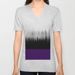 Asexuality Spectrum Flag Unisex V-Neck