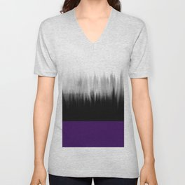 Asexuality Spectrum Flag Unisex V-Neck