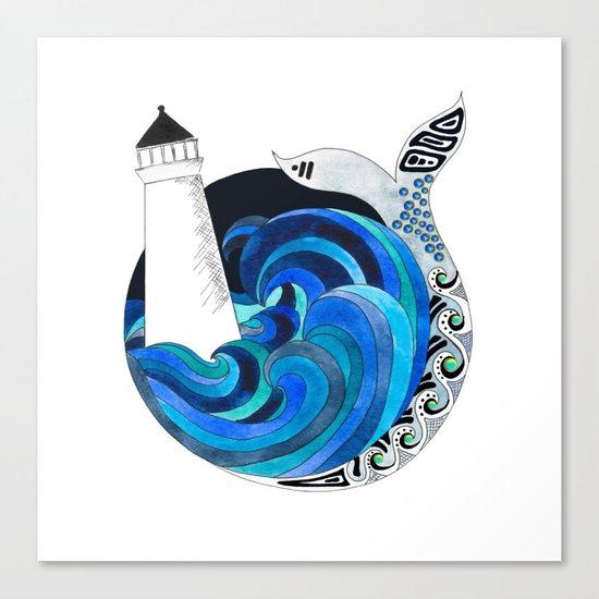 Nova Scotian Seas Canvas Print