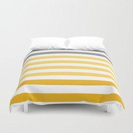Stripes Gradient - Yellow Duvet Cover