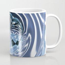 Crinkled Ribbon Swirls (1970's Vintage) Coffee Mug