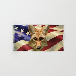 Patriotic Arizona GQ Coyote Hand & Bath Towel